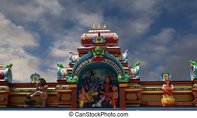 Traditional Hindu temple, India - Traditional Hindu temple,...