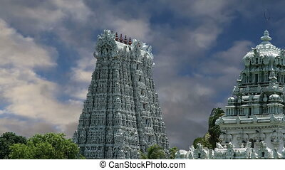 Suchindram temple-- India - Suchindram temple dedicated to...