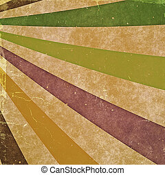 abstract rays. vintage backgrounds with old cardboard...