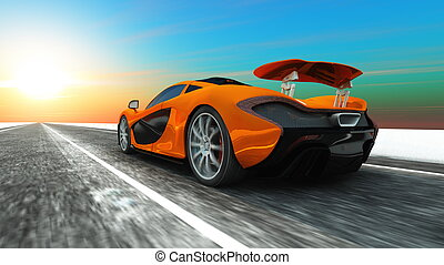 sports car - image of sports car