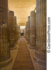 Saqqara, tempel