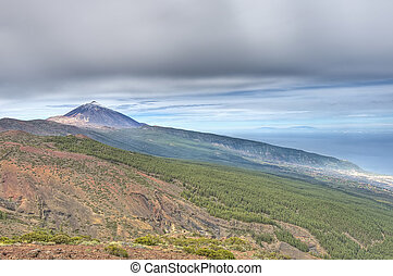 La Orotava valley - View of La Orotava Valley, Tenerife...