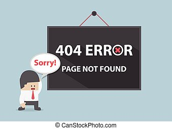 404 error, Page not found, VECTOR, EPS10
