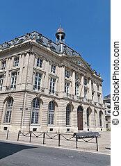 Bourse Maritime building at Bordeaux, France - Bourse...