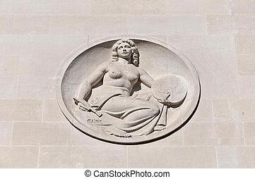 Galerie des Beaux arts in Bordeaux, France - Galerie des...