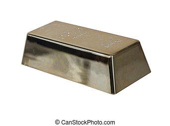 Gold Bar at an Angle