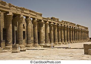 Philae, tempel