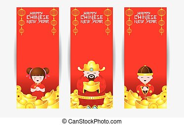 Chinese New Year Backdrop - Chinese New Year Set