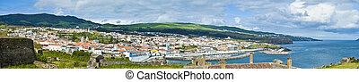 Terceira Island, Azores, Portugal - Angra do Heroismo at...