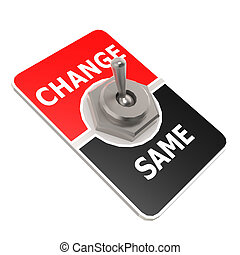Change toggle switch ima