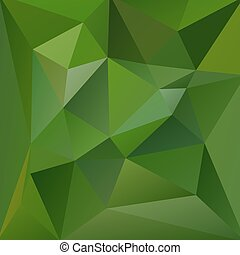 Green geometric vector background - eps10