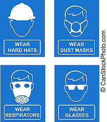 Mandatory workplace and site management and safety signs -...