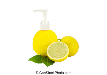 lemon lime washing liquid,lime soaking solution isolate -...