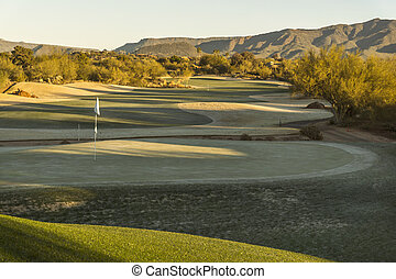 Beautiful golf course Scottsdale,Arizona