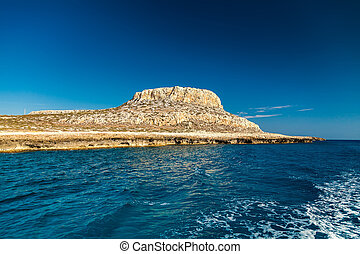 Cape Greco - view of the Cape Greco near Ayia Napa, Cyprus