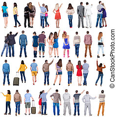 collection quot; back view of people quot; - Collection Back...