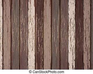 painted wooden background in brown - close-up look at...