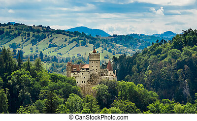 Bran Castle - Count Dracula's Castle, Romania,the mythic...