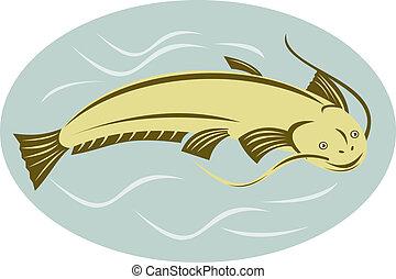 Catfish side on