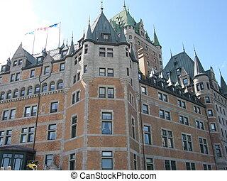 Le Château Frontenac in Quebec City, Canada - Le Château...