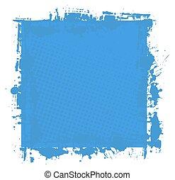 Grunge Texture Splash Banner Vector - Abstract Grunge...