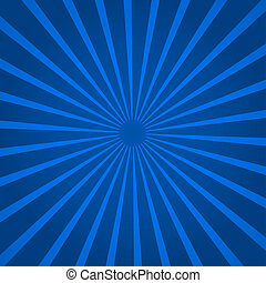 Background with blue rays - Abstract background with blue...