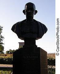 Mahatma Gandhi\'s Statue in Quebec City, Canada