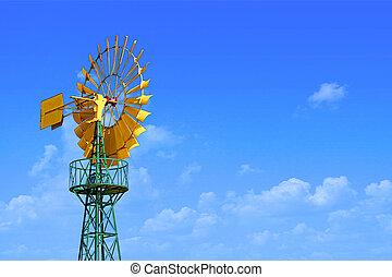Yellow windmill