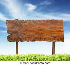 木頭, 簽署