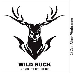 Elegant Black Buck - symbolizing the power, protection,...
