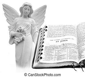 Bible New Testament St. John Angel