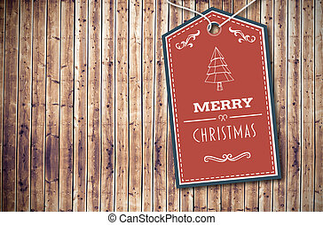 Composite image of merry christmas banner - Merry Christmas...
