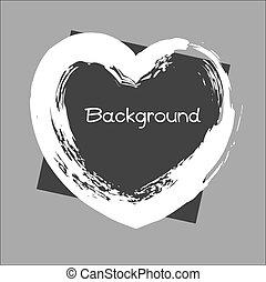 Grunge Valentine Banner