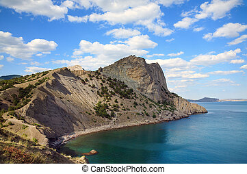 """fanciful bay - One from a fanciful bays of \""""Novyj Svit\""""..."""