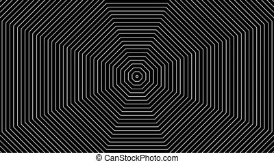 Concentric-10p - Loopable seamless cyclic animated sequence...