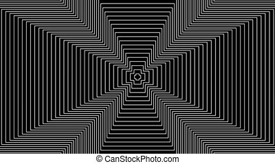 Concentric-11n - Loopable seamless cyclic animated sequence...