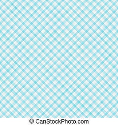 Light Teal Pattern Repeat Background - Light Teal Gingham...
