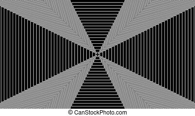 Concentric-13n - Loopable seamless cyclic animated sequence...
