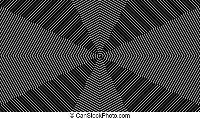 Concentric-14p - Loopable seamless cyclic animated sequence...
