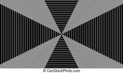 Concentric-13p - Loopable seamless cyclic animated sequence...