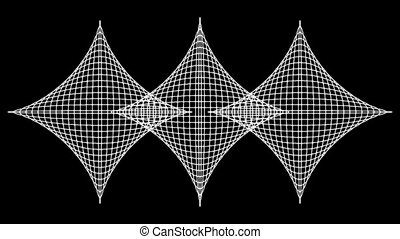 Concentric-28n - Loopable seamless cyclic animated sequence...