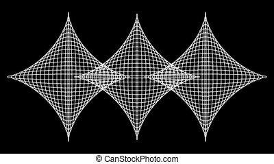 Concentric-28p - Loopable seamless cyclic animated sequence...
