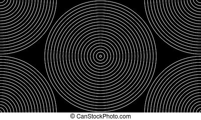 Concentric-24p - Loopable seamless cyclic animated sequence...