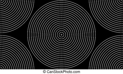 Concentric-22p - Loopable seamless cyclic animated sequence...