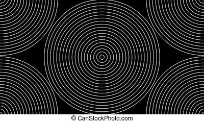 Concentric-22n - Loopable seamless cyclic animated sequence...