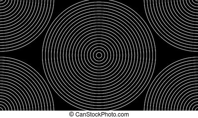 Concentric-24n - Loopable seamless cyclic animated sequence...