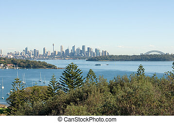 Watsons Bay, Sydney, Australia - A view of Watsons Bay, and...