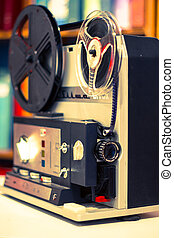 super 8 projector - home projector to see the movies in...