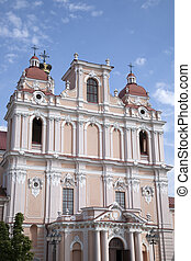 St Casimir Church, Vilnius, Lithuania