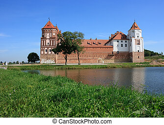 Castle of Mir in Belarus